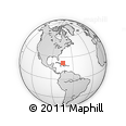 Outline Map of Acklins