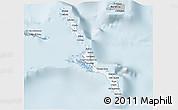 Gray 3D Map of Long Island