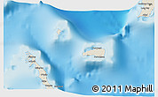Shaded Relief 3D Map of Rum Cay