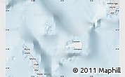Silver Style Map of Rum Cay