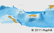 Political Panoramic Map of Rum Cay