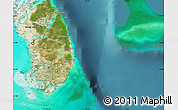 Satellite Map of South Andros