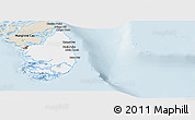 Classic Style Panoramic Map of South Andros