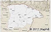 Classic Style 3D Map of Sylhet Zl