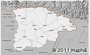 Gray 3D Map of Sylhet Zl