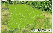 Physical 3D Map of Sylhet Zl, satellite outside