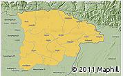 Savanna Style 3D Map of Sylhet Zl