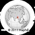 Outline Map of Sylhet Zl
