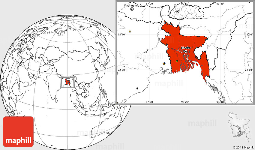 Blank location map of bangladesh gumiabroncs Gallery