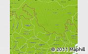 Physical Map of Lalmonirhat Zl