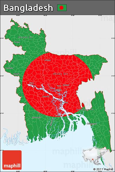 Bangladesh Flag Color Code