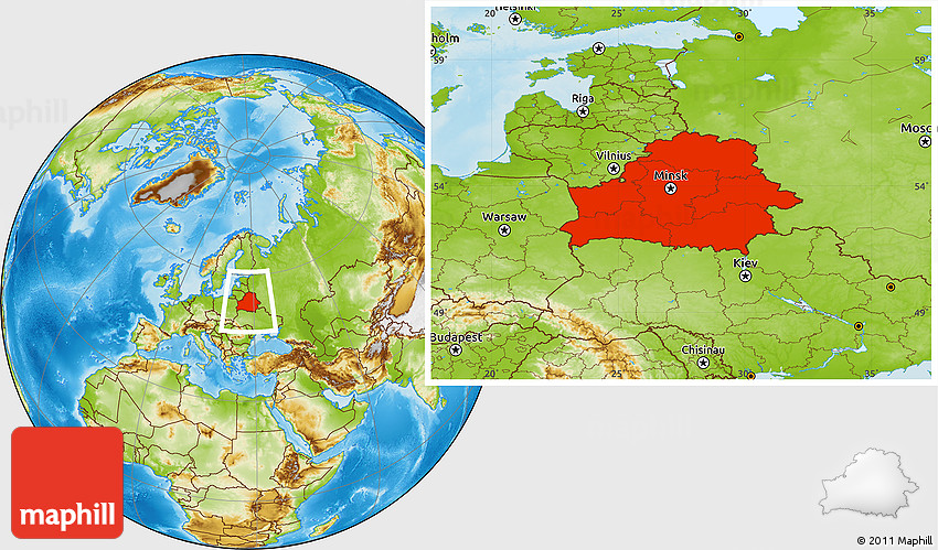Physical location map of belarus gumiabroncs Choice Image