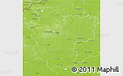 Physical 3D Map of Minsk
