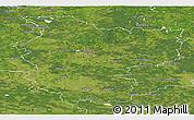 Satellite Panoramic Map of Minsk