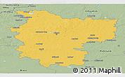 Savanna Style Panoramic Map of Minsk