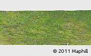 Satellite Panoramic Map of Belarus