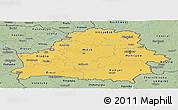 Savanna Style Panoramic Map of Belarus