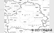 Blank Simple Map of Belarus