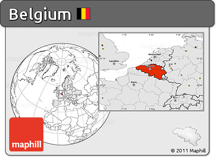 Free blank location map of belgium highlighted continent highlighted continent blank location map of belgium highlighted continent gumiabroncs Image collections