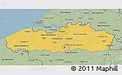 Savanna Style 3D Map of Vlaanderen