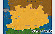 Political Map of Antwerpen, darken