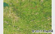 Satellite Map of Antwerpen