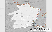 Gray 3D Map of Limburg