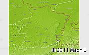 Physical 3D Map of Limburg