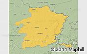 Savanna Style 3D Map of Limburg