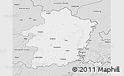Silver Style 3D Map of Limburg