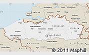 Classic Style Map of Vlaanderen