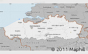 Gray Map of Vlaanderen