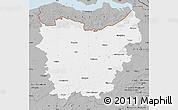Gray Map of Oost-Vlaanderen