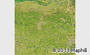 Satellite Map of Oost-Vlaanderen