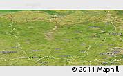 Satellite Panoramic Map of Oost-Vlaanderen