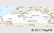 Classic Style Simple Map of Vlaanderen