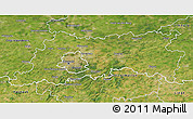 Satellite 3D Map of Vlaams Brabant
