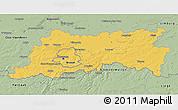 Savanna Style 3D Map of Vlaams Brabant