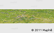 Satellite Panoramic Map of Vlaams Brabant
