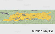 Savanna Style Panoramic Map of Vlaams Brabant