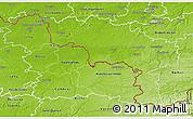 Physical 3D Map of Hainaut