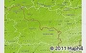 Physical Map of Hainaut