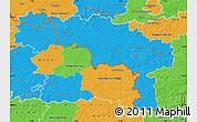 Political Map of Hainaut