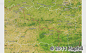 Satellite Map of Hainaut