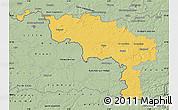 Savanna Style Map of Hainaut