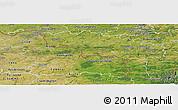 Satellite Panoramic Map of Hainaut