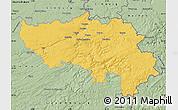 Savanna Style Map of Liege
