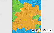 Political Map of Luxembourg