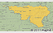Savanna Style Map of Wallonne