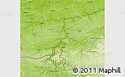 Physical 3D Map of Namur